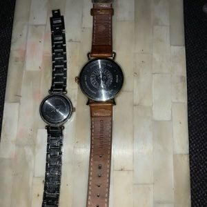Women's set of two and Klein watches